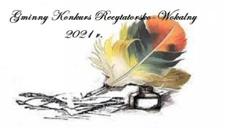 GMINNY KONKURS RECYTATORSKO-WOKALNY inspirowany postacią C.K. Norwida